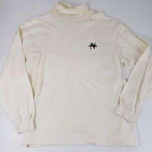 Vintage Nautica Mock Neck Pullover Sweater